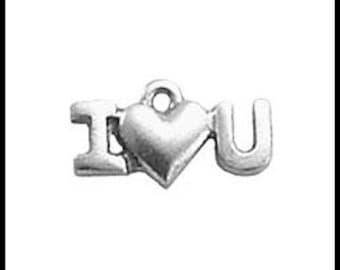 I Love you Charm