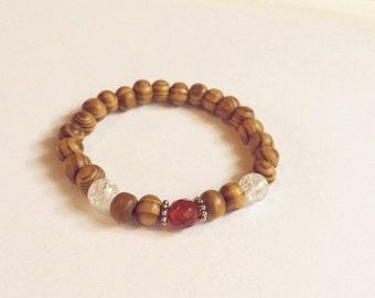 Bracelet red carnelian