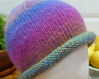 Multi Coloured Pure Wool Hat - 1855