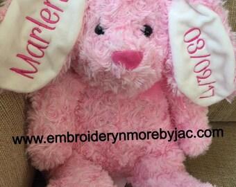 Personalized Bunny Friend