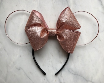 Rose Gold Wire Mouse Ears