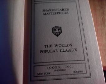 Shakespeares Masterpieces. Hard Cover