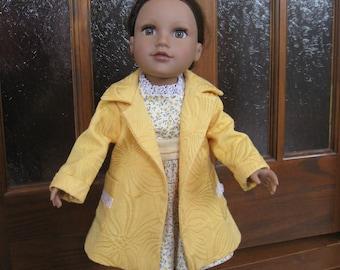 dress and coat 46cm doll