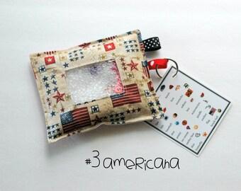 SALE Americana Flag I Spy bag