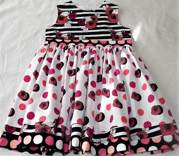 Designer Mother and Daughter Matching Dresses