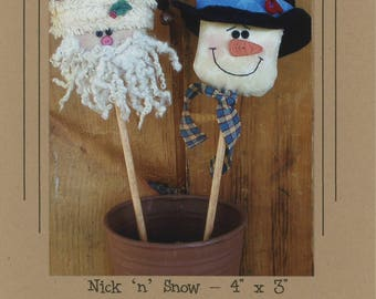 Nick 'n' Snow Pattern by Cottonwood Creations (CWC609)