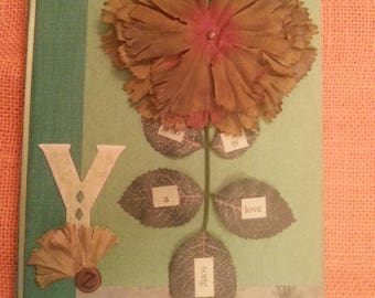 Natural Beauty-Altered Book