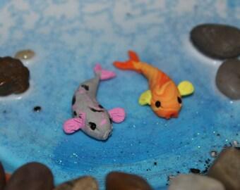 Koi fish ~ Polymer clay