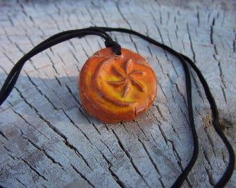 Khajiit pendant, khajiit jewelry, khajiit necklace, ceramic pendant, geek gift, gamer gift, cosplay accessory (free shipping)