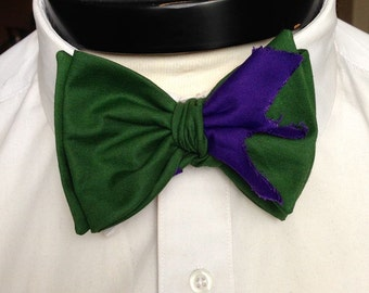 The Lee - Our Marvel Inspired bowtie in Hulk colors