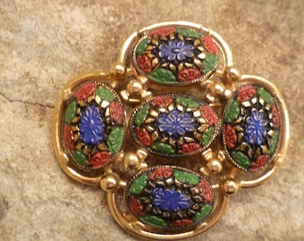 Sarah Coventry signed brooch