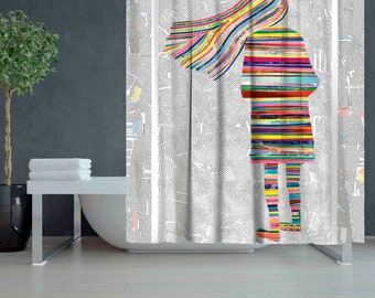 Character to my bathroom\Addition to our bathroom\Home textile\Bathroom decorationMost beautiful shower curtain\Exclusive bathroom