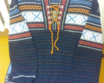 Norway Figgjo wool sweater.Clothing.1980's