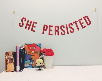 She Persisted - Banner