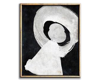 Abstract Wall Art, Modern Painting, Black and White Art, Printable Wall Art, Geometric Prints, Contemporary Wall Art, Art Prints, Wall Art
