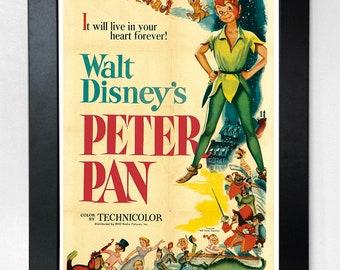 Peter Pan Disney A3 Movie Poster Unframed