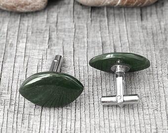 Cheap gift|for|dad Geometric cufflinks Man cufflinks Vintage cufflinks Oval cufflinks Mens cufflinks Vintage accessory Suit Tie Accessories