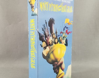 Video ~ Monty Python and the Holy Grail ~ VHS ~ Marvelously Zany Humor ~ Movie ~ VCR ~ English Comedy ~ Video Tape ~ My Nostalgic Life