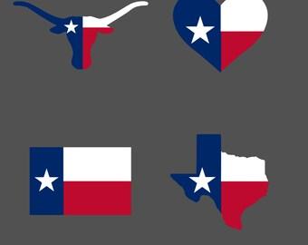 Texas decal,state decal,texas car decal,texas longhorns,texas flag decal,yeti texas decal,yeti state decal,state tumbler decal,texas sticker