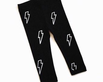 Lightning Bolt Harry Potter Leggings Hand Painted Childrens Leggings Custom Toddler Leggings Womens Leggings