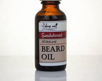 Beard Oil | Sandalwood | Grooming Oil | For Him | Charity