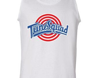 "WHITE ""Tunesquad"" Tank Top"