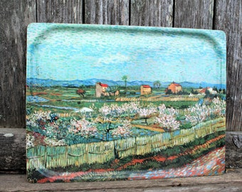 Platex Melamine Serving Tray / Cezanne Scene
