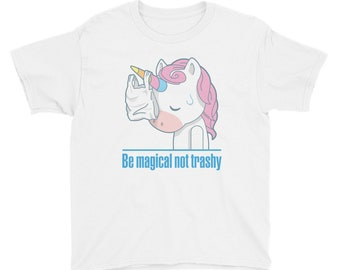 Earth Day Shirt for Toddler Girls and Boys - Unique Kids Earth Day Shirt with Magical Unicorn