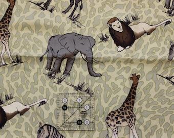 "Safari polyester blend? fabric  54"" wide"