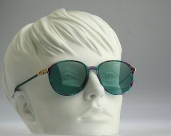 Silhouette M 1779, Vintage round sunglasses, 90s rare and unique / NOS