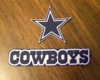Dallas Cowboys Crocheted Doll