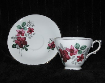 1950's Delphine Teacup and Saucer