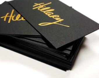 Letterpress Business Card Finoprint By On Etsy