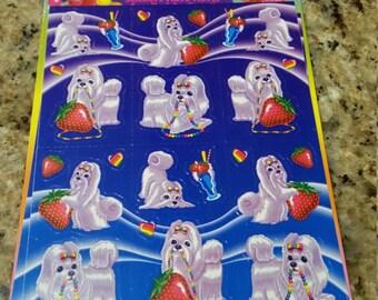 Vintage Lisa Frank Sticker Scentsations MIP