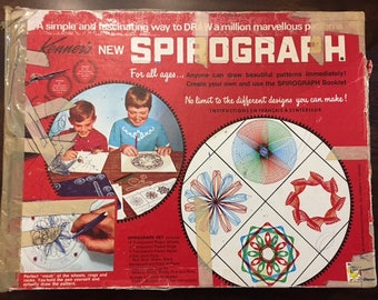Vintage Spirograph All pieces are included 1960's