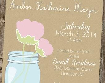 Bridal Shower- Chic Mason Jar