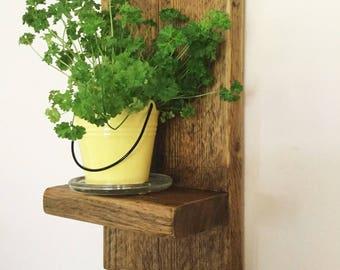 Wood Shelf - Rustic Wood Shelf - Reclaimed Wood - Bathroom Shelf - Furniture - Rustic Wood - Home Decor - Kitchen Shelf - Shelf - Storage