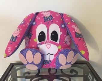 Peppa Pig Handmade Stuffed Bunny