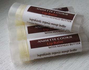 Anisette Cookie Lip Balm - Beeswax/ Mango Butter Nourshing Lip Balm