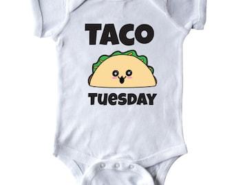 Kawaii Taco Tuesday Infant Creeper by Inktastic