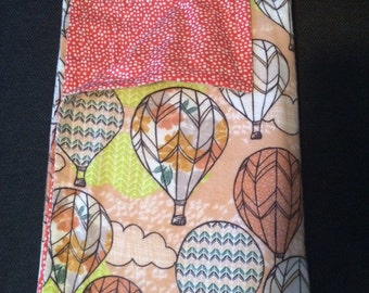 Hot air balloons blanket