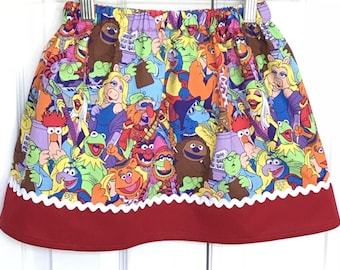 Muppets  Skirt (18 mos. 2T, 3T, 4T, 5, 6, 7, 8)