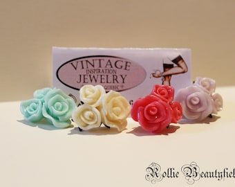 Flower Earrings / Flower earring