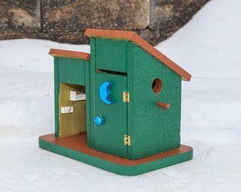 The Deluxe Outhouse