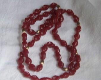 1982 Autumn Glow Necklace By Avon