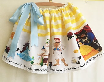 Childrens Beauty and The Beast Dress, Costume, Skirt By  Rooby Lane