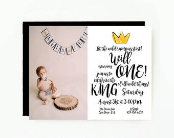 Where The Wild Things Are Birthday Party Invitation With