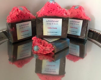 Cotton Candy Handmade Soap