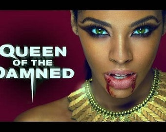 Queen of the Damned inspired perfume (Amber, Dragons Blood, Myrrh, Patchouli, Dried flowers, Jasmine, Embalming herbs) vegan/indie fragrance