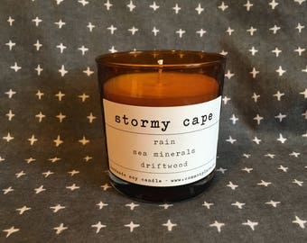 STORMY CAPE - scented soy candle